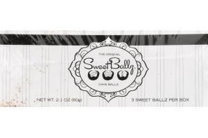 Sweet Ballz Chocolate Cake Balls - 3 CT