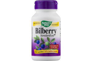 Nature's Way Bilberry -90 CT