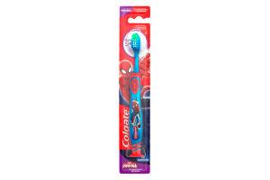 Зубная щетка детская c супермягкими щетинками Barbie 5+ Colgate 1шт