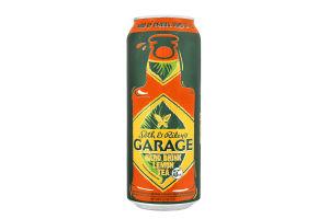 ПИВО GARAGE 0.5Л HARD LEMON TEA Ж/Б