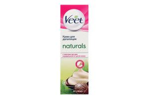 Крем для депіляції з маслом ши Naturals Veet 90мл