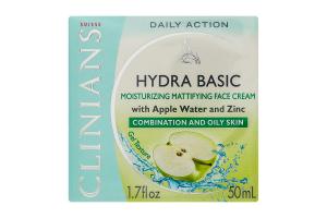 CLINIANS Крем-гель матуючий д/жирної шкіри яблучна вода 50мл