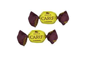 Цукерки «CARRE Amour» з сезамом ваг.