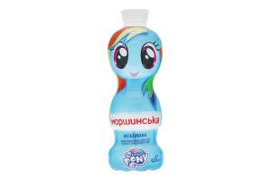 Вода минеральная негазированная My little pony Моршинська п/бут 0.33л