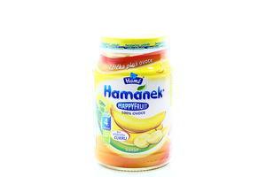 Пюре для детей от 4мес Банан Happy Fruit Hamanek с/б 190г