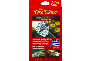 "The ""Ove"" Glove Heat & Flame Hand Protection"