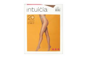 Колготки жіночі Intuicia T-Band 20den 2 vizone