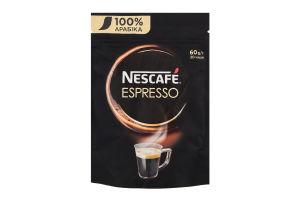 Кава натуральна розчинна порошкоподібна Espresso Nescafe д/п 60г