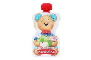 Пюре для дітей від 4міс Яблуко Bambolina д/п 90г