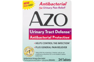 AZO Urinary Tract Defense Antibacterial Protection - 24 CT