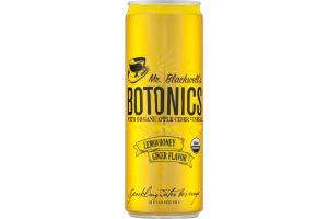 Mr. Blackwell's Botonics Sparkling Water Beverage Lemon Honey Ginger