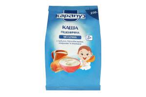 Каша молочна для дітей з 5міс Пшенична з гарбузом Карапуз м/у 250г