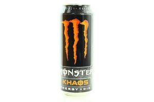 Напиток Monster Energy Khaos энергетический б/алк ж/б 0,5л