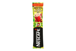 Напиток кофейн Nescafe Choco Hazelnut Mix 3в1 раст