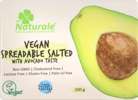 Суміш рослинних жирів 75% веганська зі смаком авокадо Naturale м/у 200г