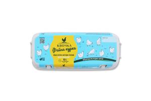 Яйця курячі другої категорії Файна курка Квочка к/у 10шт