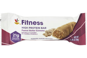 Ahold Fitness High Protein Bar Peanut Butter Extreme