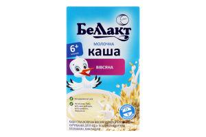 Каша молочна вівсяна для дітей від 6міс Беллакт к/у 200г