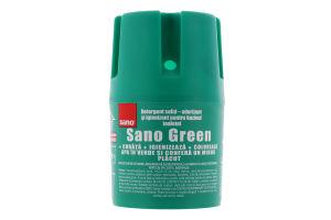 Средство для мытья и дезинфекции унитаза Green Sano 150г