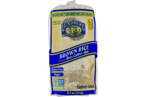 Lundberg Brown Rice Rice Cakes Lightly Salted