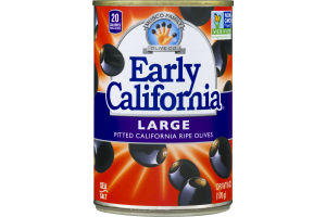 Musco Family Early California Large Pitted California Ripe Olives