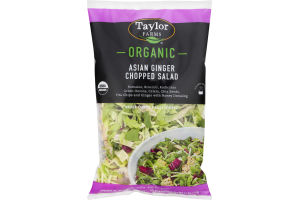 Taylor Farms Organic Chopped Salad Asian Ginger