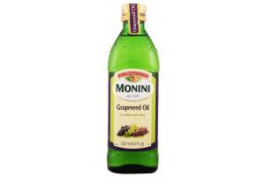 Масло из виноградных косточек Grapeseed Oil Monini с/бут 500мл