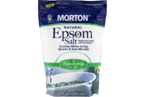 Morton Natural Epsom Salt Plus Eucalyptus