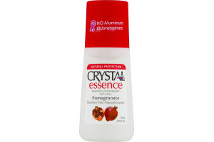 Crystal Essence Mineral Deodorant Roll-On Pomegranate