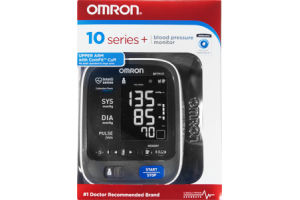Omron 10 Series + Blood Pressure Monitor