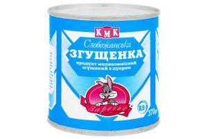 Сгущенка 8,5% Слобожанская Заречье ж/б 370г
