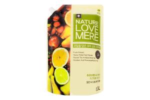 Кондиціонер для прання дитячого одягу з екстрактом фруктів NatureLoveMere 1300мл