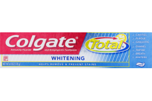 Colgate Total Whitening Anticavity Fluoride and Antigingivitis Toothpaste