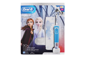 Щітка зубна електрична для дітей від 3років в ексклюзивному футлярі Frozen II Oral-B 1шт