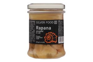 Рапани підкопчені в олії Silver Food с/б 200г