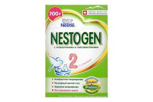 Суміш молочна суха для дітей від 6міс з пребіотиками та лактобактеріями №2 Nestogen к/у 700г