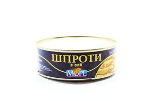 """Шпроты в масл. """"МОРЕ"""" 230 гр/48 шт"""