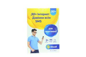 Пакет стартовий SP-3G-SMARTPHONE 1шт Лайф