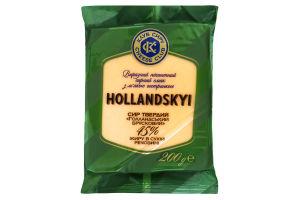 Сыр 45% Голландский Клуб сиру м/у 200г
