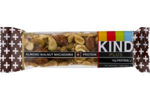 KIND Plus Bar Almond Walnut Macadamia + Protein
