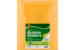 Duck Kraft Bubble Mailers #2 - 2 PK