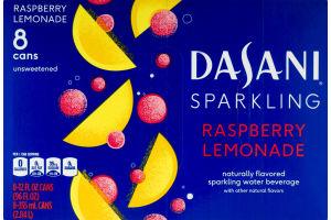 Dasani Sparkling Raspberry Lemonade