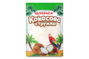 Стружка кокосовая Белая Украса м/у 25г