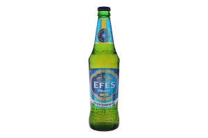 Пиво 0.5л 4.5% светлое фильтрованое пастеризованное Efes Pilsener бут