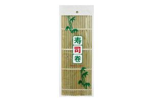 Коврик для суши Yumart из зелен.бамбука 24*24cм