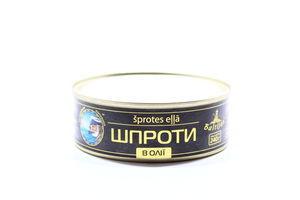 Шпроти Baltijas в олії ж/б 240г х48