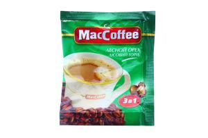 Напиток кофейный растворимый 3в1 Лесной орех MacCoffee м/у 18г