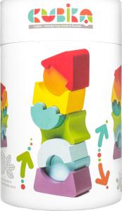 Игрушка Cubika Пирамидка деревянная LD-8