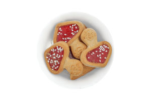 "Печиво Мухоморчики зі смаком чорної смородини (3,0) ТМ ""FRIENDY"""