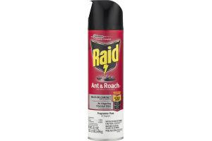 Raid Ant & Roach Defense System Spray Fragrance Free